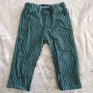Bonpoint baby unisex striped trousers